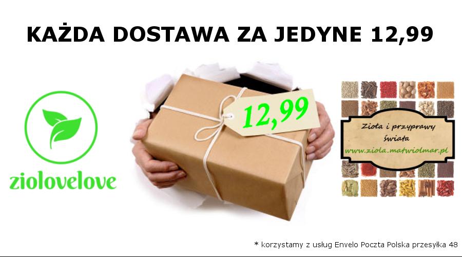 Zarejestruj się i korzystaj z taniej dostawy, nawet 30kg w cenie 12,99!!!